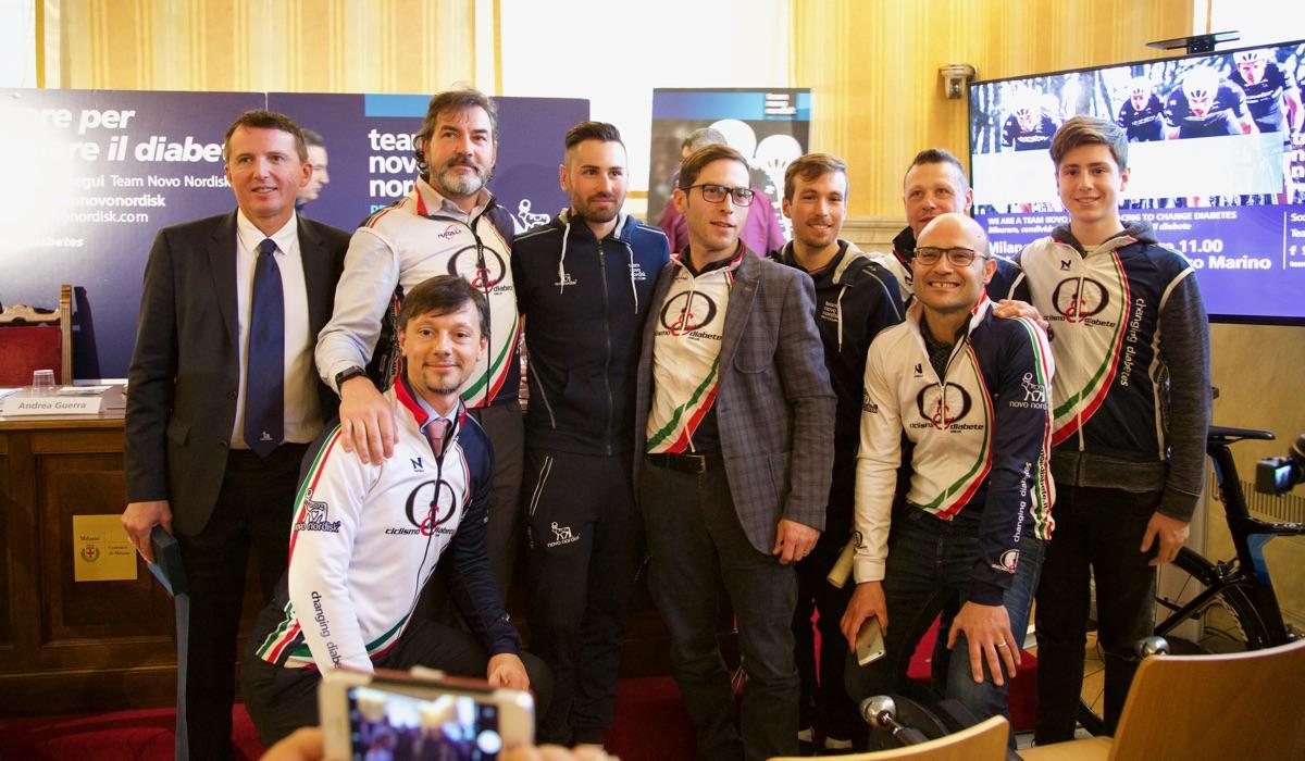 C d con novo nordisk alla milano sanremo 2018 for Eventi milano 2018